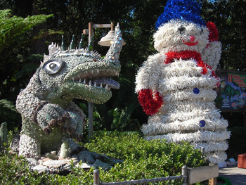 Dino-World Christmas decor