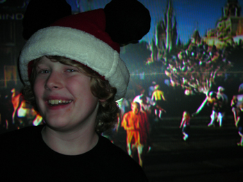 Mickey Christmas hat