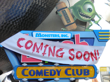 Monsters Inc Laugh Floor Coming Soon