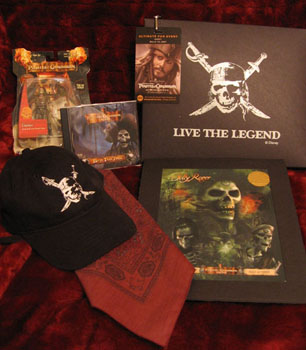 POTC merchandise, photo by Christine Cappel