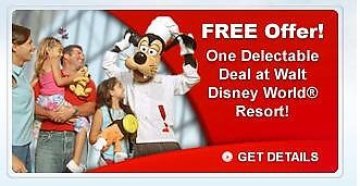 Chef Goofy with free dining