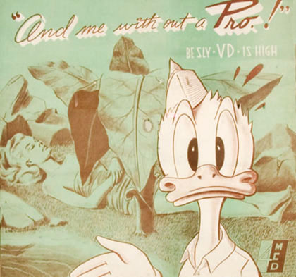 Donald Duck Wants You to Use a Condom