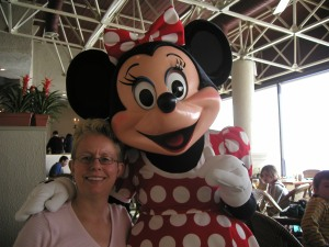 A casual breakfast with my girlfriend Minnie, at the Watercress Café Character Breakfast