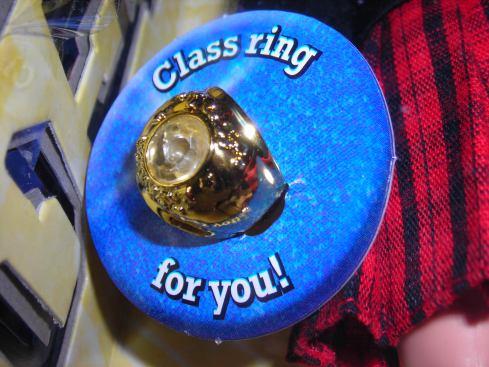 Ryan's class ring