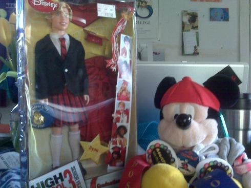 Ryan with Pal Mickey