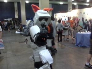 Scout Trooper with kitty ears
