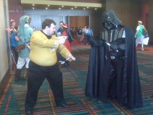 Kirk vs. Vader