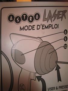 Astro Laser Mode D'Emploi