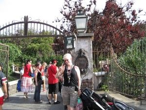 Phantom Manor entrance