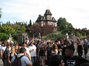 Phantom Manor at a distance