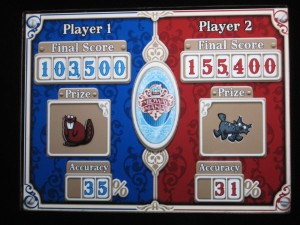 Toy Story Mania scores