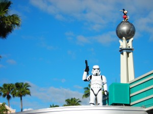 Stormtrooper at Disney's Hollywood Studios