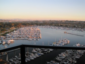 San Diego harbor view