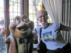 Mr. Toad and I