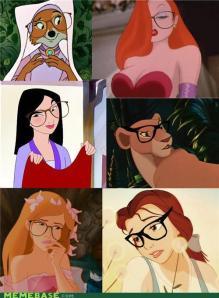 Disney Hipster Pallete