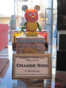 Orange Bird Vinylmation at D Street, WDW Downtown Disney