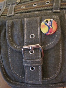 Mickey pin close-up