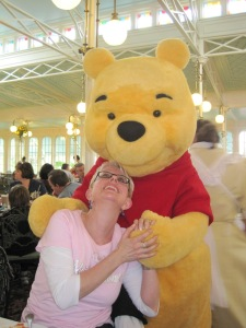 Winnie the Pooh and yours truly