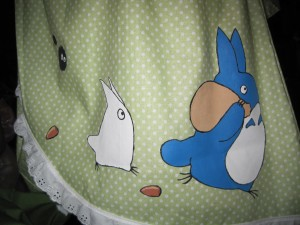 Totoro Kimono detail