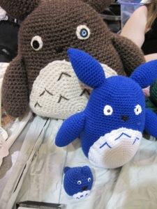 More Totoro plushies
