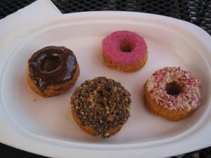 Baked treats at Babycakes