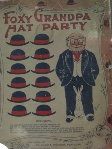 Foxy Grandpa Hat Party