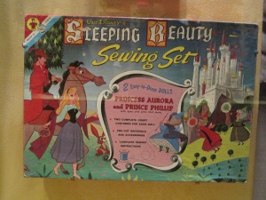 Sleeping Beauty's Sewing Set